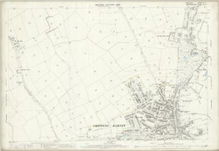 Middlesex VI.3 (includes: Chipping Barnet; South Mimms; South Mimms Urban) - 25 Inch Map