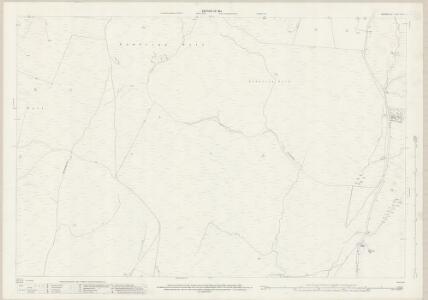 Westmorland XXXIX.3 (includes: Docker; Firbank; Lambrigg; New Hutton) - 25 Inch Map