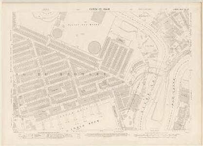 London VIII.62 - OS London Town Plan