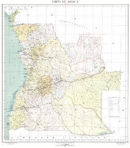 Carta de Angola