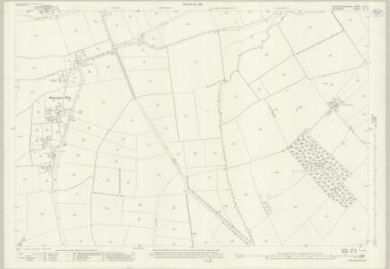 Gloucestershire LXI.9 (includes: Hannington; Highworth; Kempsford) - 25 Inch Map