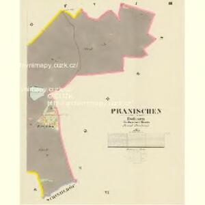 Pranischen - c0462-1-003 - Kaiserpflichtexemplar der Landkarten des stabilen Katasters