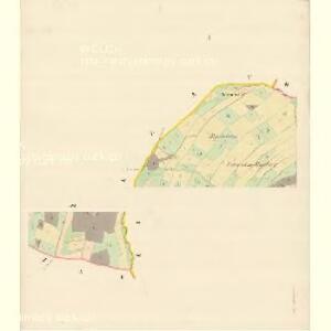 Liebenthal (Liebtál) - m1642-1-001 - Kaiserpflichtexemplar der Landkarten des stabilen Katasters