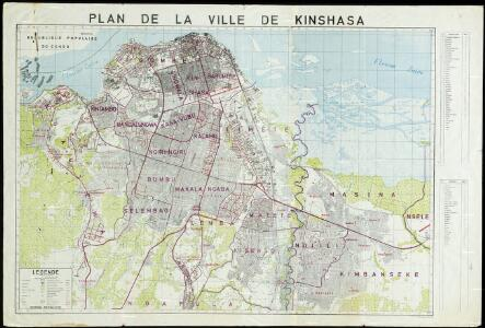 Plan de ville de Kinshasa
