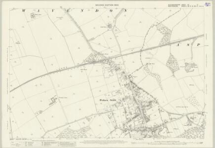 Buckinghamshire XV.8 (includes: Aspley Guise; Aspley Heath; Wavendon; Woburn Sands) - 25 Inch Map