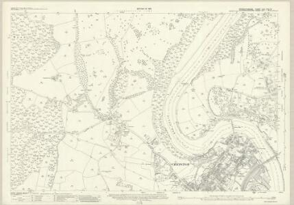 Monmouthshire XXVI.13 & 14 (includes: Aust; Chepstow; St Arvans; Tidenham) - 25 Inch Map