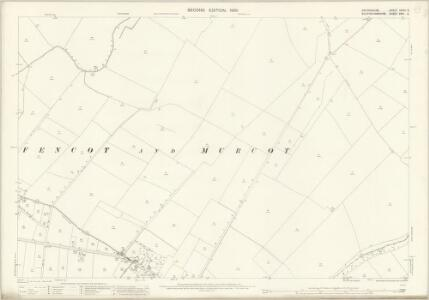 Oxfordshire XXVIII.6 (includes: Arncott; Boarstall; Fencott and Murcott; Merton) - 25 Inch Map