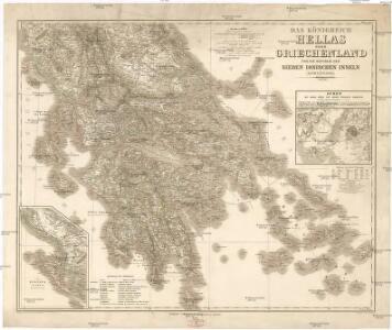Das Königreich Hellas oder Griechenland und die Republik der Seiben Ionischen Inseln (Ephtánisos)