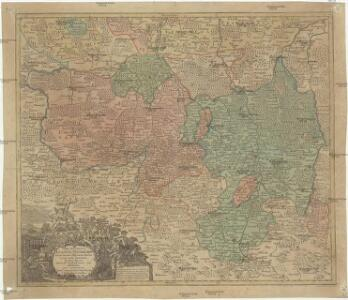 Marchionatus Lusatiae superioris felicissimo Poloniae regis, electoris Saxoniae, sceptro florens, dynastiis et praefecturis suis distributus nova accuratione