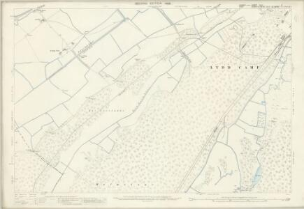 Sussex XLVI.11 (includes: Lydd) - 25 Inch Map