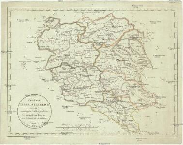 Charte von Innerösterreich oder den vereinigten Herzogthümern Steyermark und Kaernten