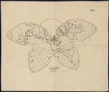 Map no. 245 [Waterman butterfly projection of the world]