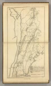 Country from Frog's Point to Croton River shewing the American and British Armies 1776.