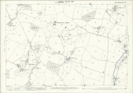 Hertfordshire XXII.7 (includes: Little Hadham; Much Hadham; Standon) - 25 Inch Map