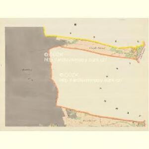 Lenzhof (Mlenicedwur) - m1835-1-002 - Kaiserpflichtexemplar der Landkarten des stabilen Katasters