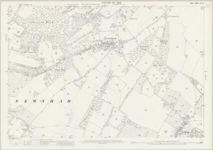 Kent XLIV.3 (includes: Doddington; Eastling; Newnham) - 25 Inch Map