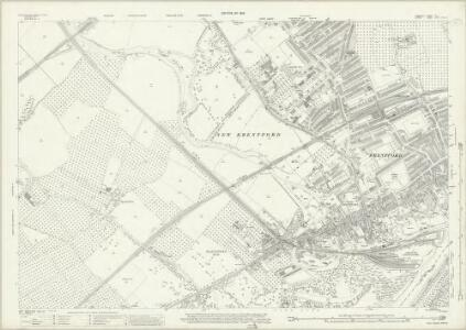 Middlesex XX.4 (includes: Ealing St Mary; Heston and Isleworth; New Brentford; Old Brentford) - 25 Inch Map