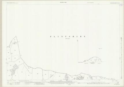 Shropshire VI.7 (inset VI.8) (includes: Bettisfield; Ellesmere Rural; Halghton; Hanmer; Penley) - 25 Inch Map