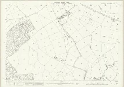 Lincolnshire LXIII.15 (includes: Baumber; Great Sturton; Hatton; Langton by Wragby; Minting) - 25 Inch Map