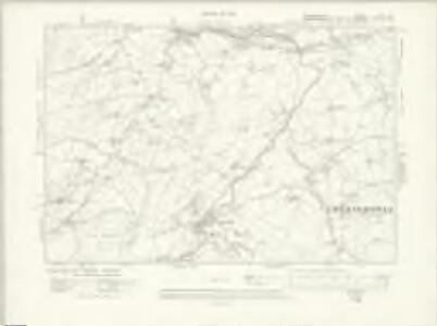 Denbighshire XXIII.SE - OS Six-Inch Map