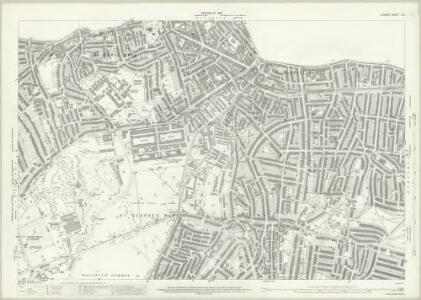 London (1915- Numbered sheets) X.3 (includes: Borough Of Woolwich) - 25 Inch Map