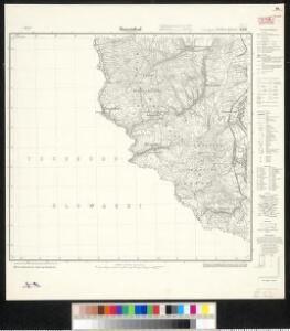 Meßtischblatt 3381 : Rosenthal in Schlesien, 1919