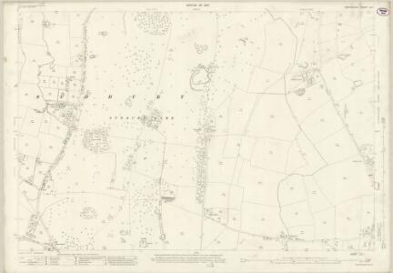 Derbyshire LIII.1 (includes: Church Broughton; Foston and Scropton; Sudbury) - 25 Inch Map