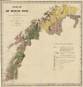 Geologiske kart 12a: Geologisk kart over Det Nordlige Norge