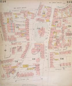Insurance Plan of London North District Vol. E: sheet 24
