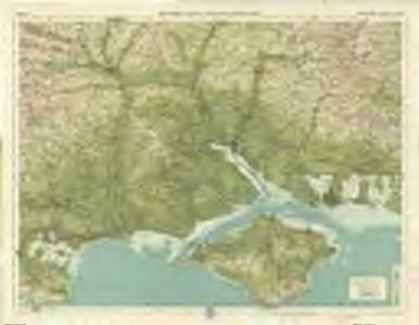 New Forrest & Isle of Wight, Sheet 33  - Bartholomew's