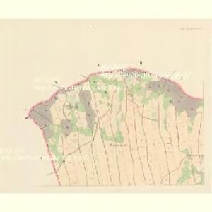 Böhmisch Petersdorf (Czeski Petrowice) - c0975-1-001 - Kaiserpflichtexemplar der Landkarten des stabilen Katasters