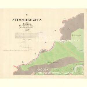 Sudomierzitz - m2945-1-002 - Kaiserpflichtexemplar der Landkarten des stabilen Katasters