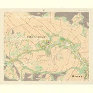 Unter Heinsendorf (Hinczin) - m0947-2-006 - Kaiserpflichtexemplar der Landkarten des stabilen Katasters