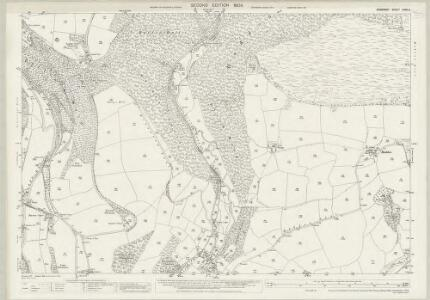 Somerset LXVII.4 (includes: Brompton Regis; Dulverton) - 25 Inch Map