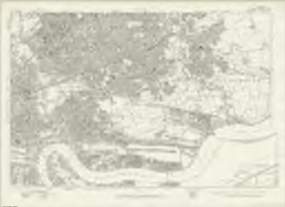 London Sheet L - OS Six-Inch Map