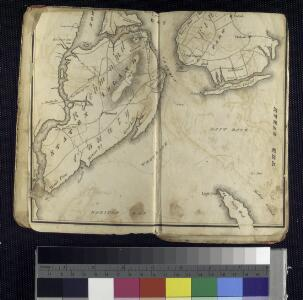 Map of the Hudson ... from Sandy Hook to New York Harbor