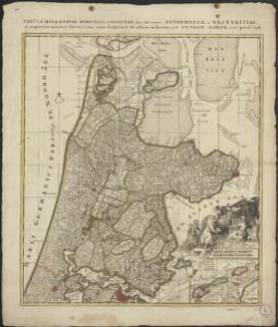 Tabula Hollandiae Borealis, cognitae olim sub nomine Kennemariae et Westfrisiae