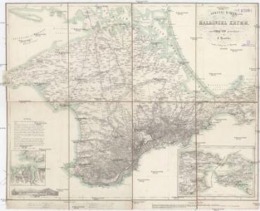 Special-Karte der Halbinsel Krymm [sic]