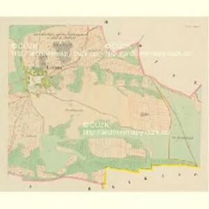 Louzna - c4262-1-003 - Kaiserpflichtexemplar der Landkarten des stabilen Katasters