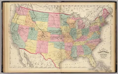 Map of the United States and territories.