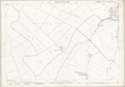 Yorkshire CCLXVII.2 (includes: Crowle; Eastoft; Eastoft) - 25 Inch Map