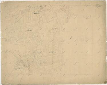 Katastrální mapa obce Kaznějov WC-VIII-18 ai