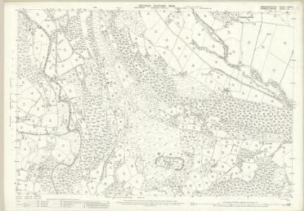 Monmouthshire III.11 (includes: Crucornau Fawr; Partrishow) - 25 Inch Map