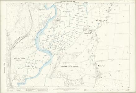 Hampshire and Isle of Wight LXXVIII.3 (includes: Ringwood; St Leonards and St Ives) - 25 Inch Map