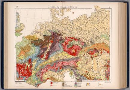 Mitteleuropa, Geologische Übersicht
