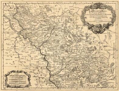 Le Duché de Berg, le Comté de Homberg, les Seugneries de Hardenberg, et de Wildenborg