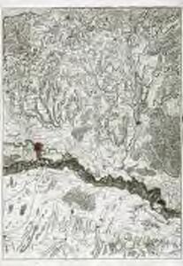 Le cours du Rhin de Bâle à Hert près Philisbourg contenant l'Alsace et partie du Brisgau, 4