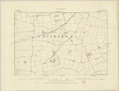 Lincolnshire XXXV.SW - OS Six-Inch Map