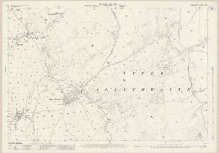 Lancashire XII.8 (includes: Staveley; Upper Allithwaite) - 25 Inch Map