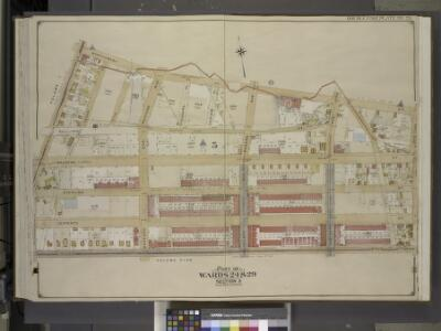 Brooklyn, Vol. 2, Double Page Plate No. 26; Part of   Wards 24 & 29, Section 5; [Map bounded by Montgomery St., New York Ave., Lincoln Road; Including  Lefferts St., Sterling St., Malbone St., Franklin Ave.]